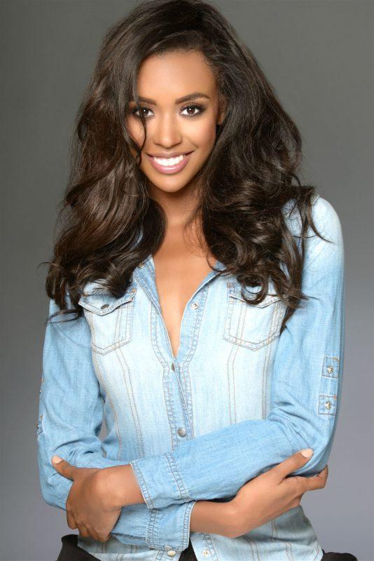 CurlyChic Ambassador - Miss California 2017